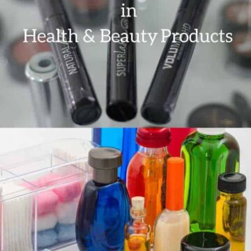 Toxic Chemicals Beauty Products