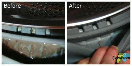 Before and After Washing Machine by ecokaren