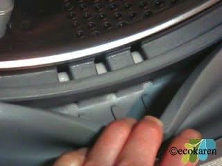 clean front loader bottom