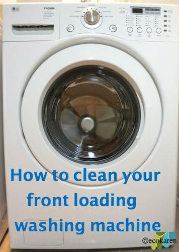 How to Clean Front Loading Washer Maintenance by drkarenslee