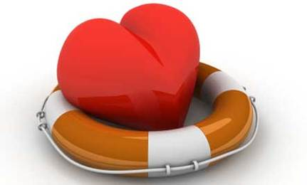 heart on a raft