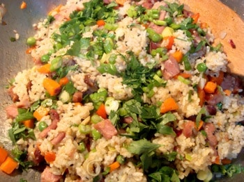 Wheat-free and Egg-free Fried Rice