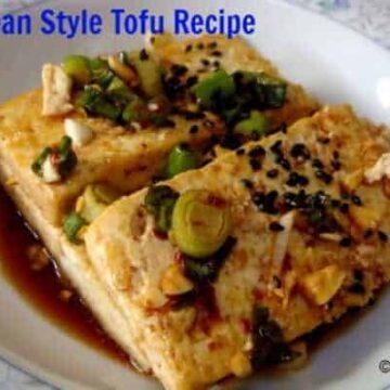 Korean Style Tofu