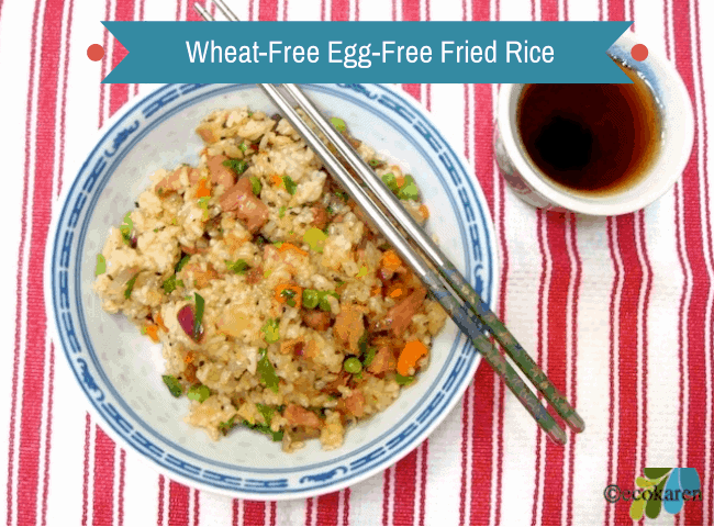 Wheat-Free Egg-Free Fried Rice