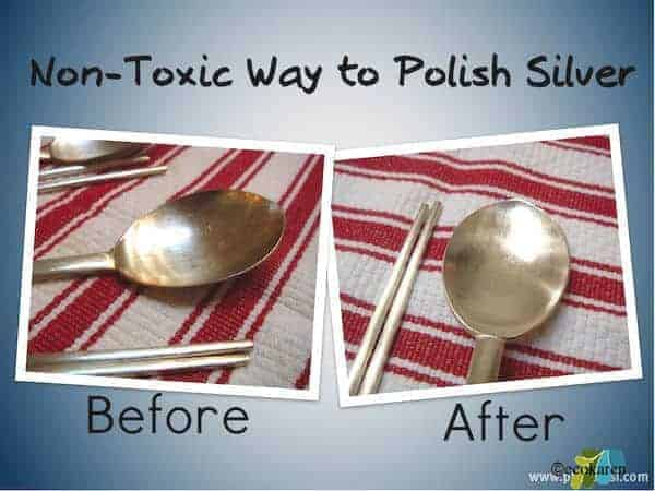 Non-Toxic Way to Polish Your Silverware
