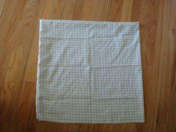 white sheet square