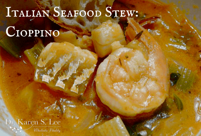 Italian Seafood Stew: Cioppino