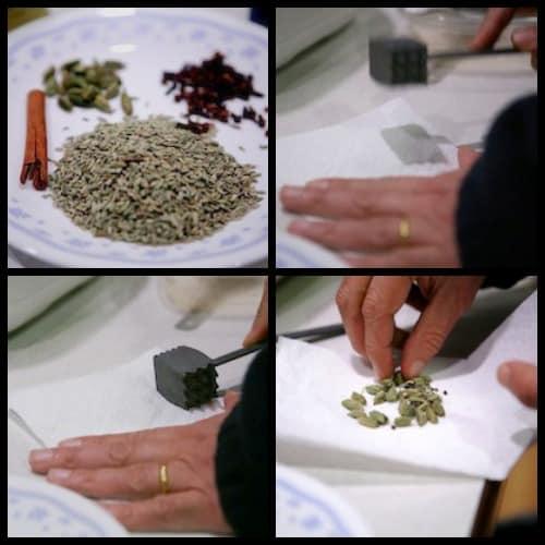 ndian Masala Chai Tea Collage ecokaren