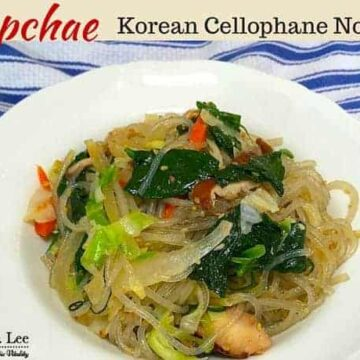 Japchae Recipe by drkarenslee