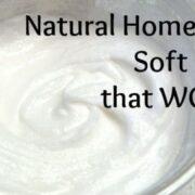 homemade soft scrub ecokaren