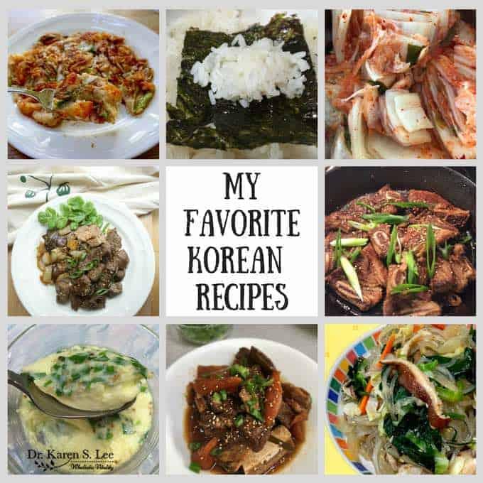 Favorite Korean Recipes