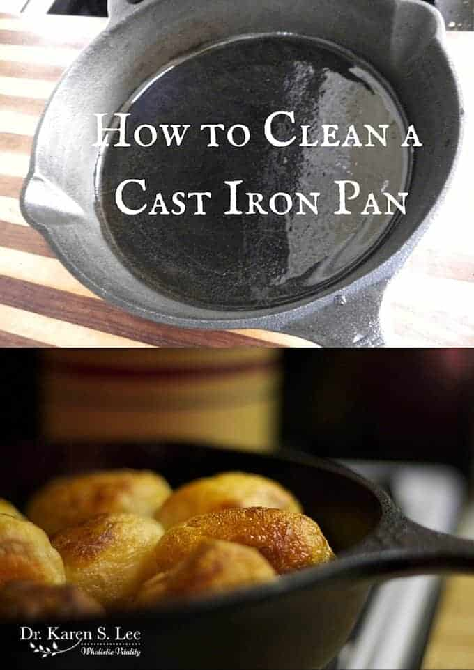 How to Clean a Cast Iron Pan by drkarenslee
