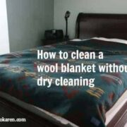 clean wool blanket ecokaren
