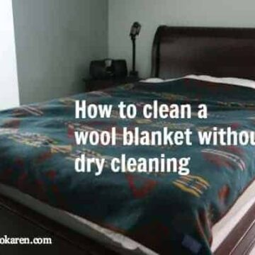 clean wool blanket ecokaren