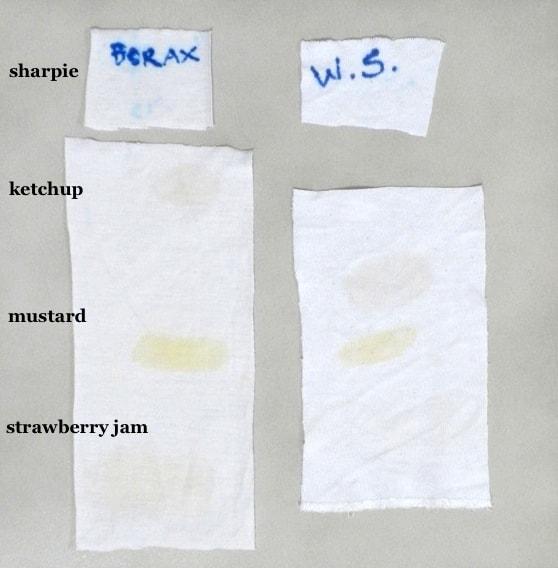 testing borax-free laundry detergent