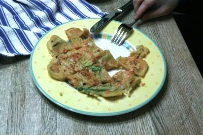 Korean Pa Jun (pancake)
