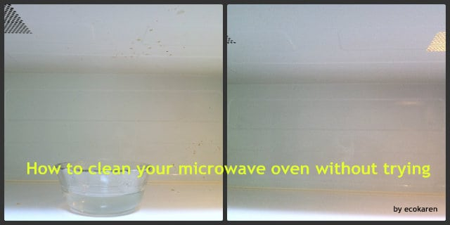 how to clean microwave ecokaren