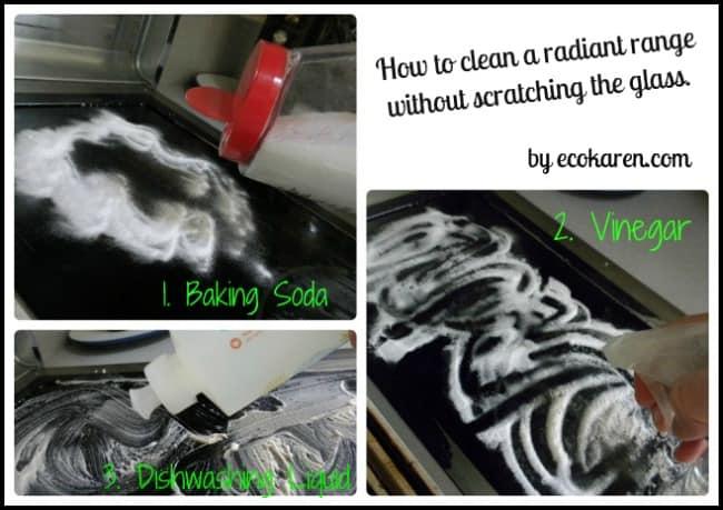 radiant range cleaning