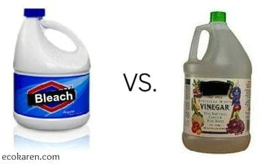Vinegar or Chlorine? Which is better for cleaning?