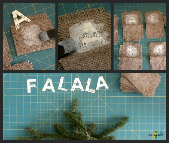 burlap ornament collage1