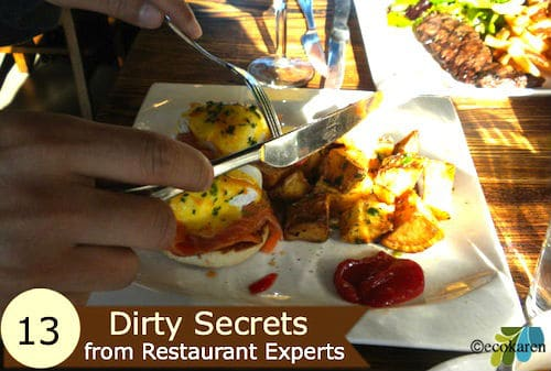 13 Dirty Secrets from Restaurant Industry Experts