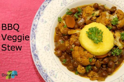 Barbecue Veggie Stew