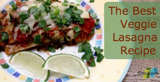 veggie lasagna ecokaren