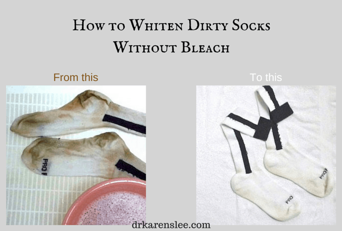How to Whiten Dirty Socks Without Bleach
