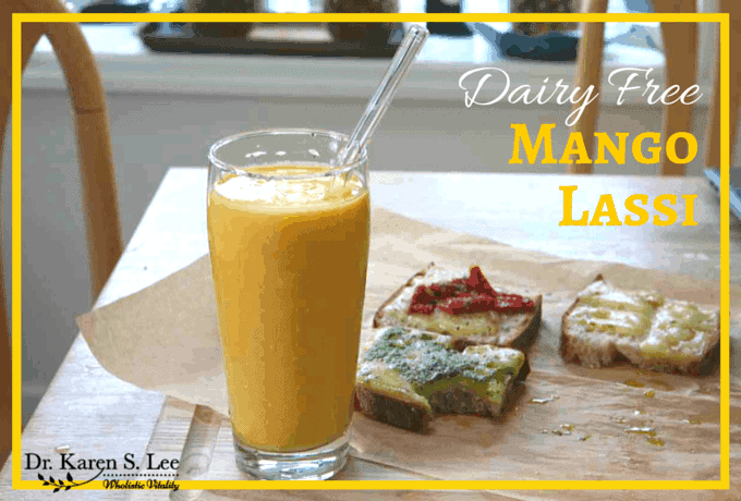 Mango Lassi Recipe by drkarenslee