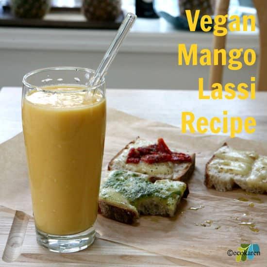 vegan mango lassi recipe ecokaren