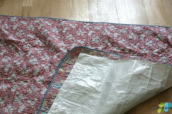 sewed Waterproof Picnic Blanket