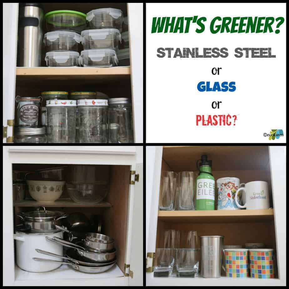 Stainless steel, glass, and plastic facts