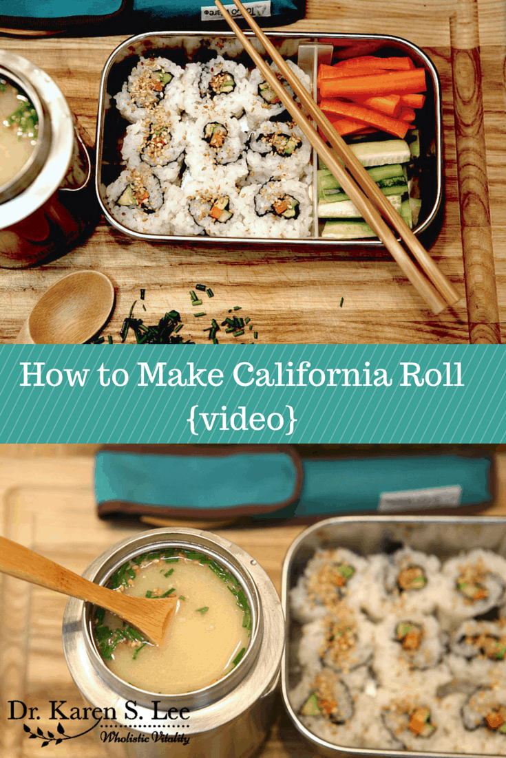 How to Make California Roll Pin