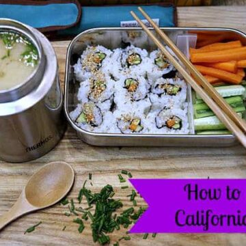 how to make california roll by ecokaren