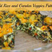 wild rice and garden veggies frittata by ecokaren