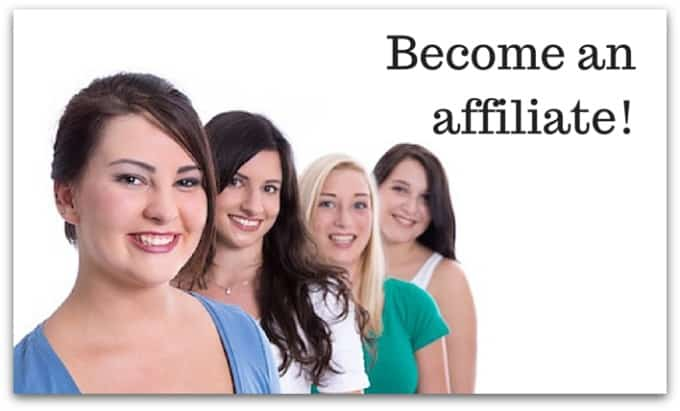 Be an affiliate