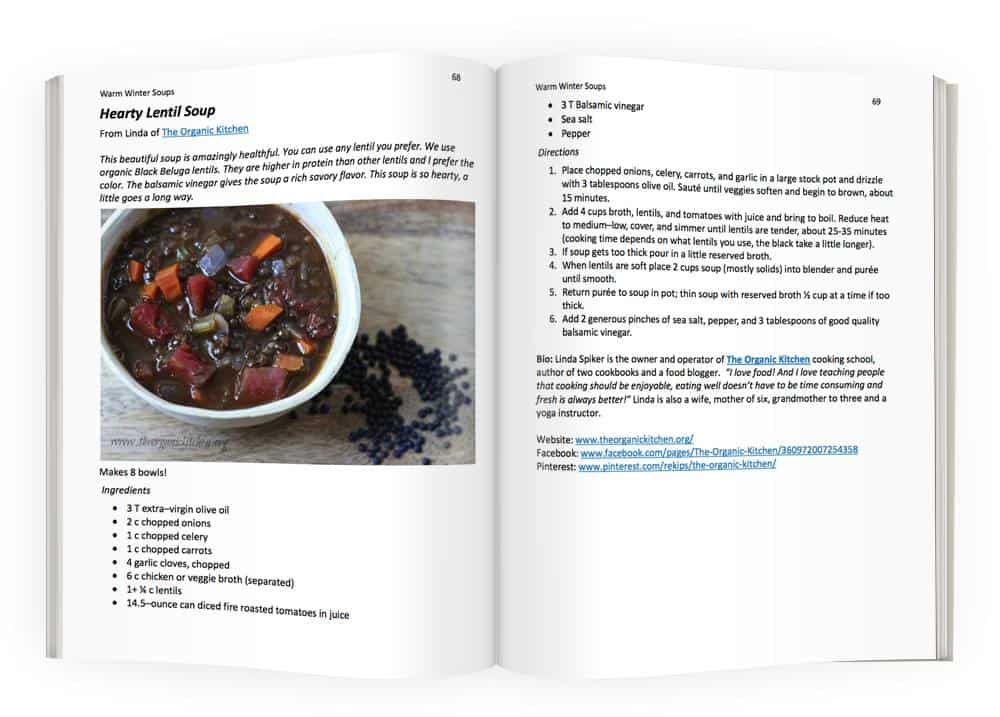 opened winter soups cook book