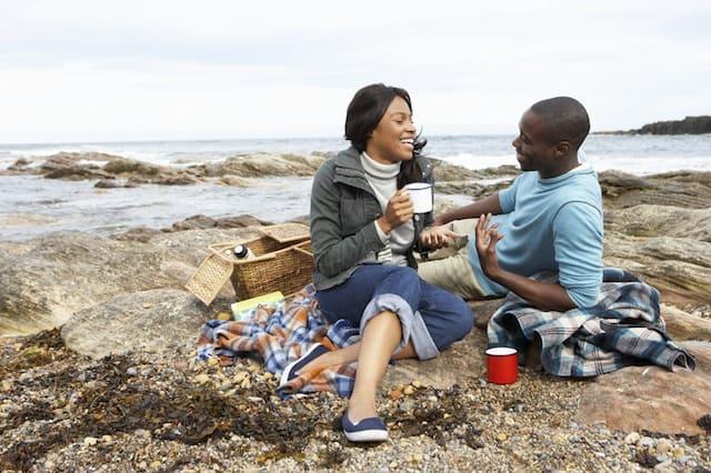 picnic for Valentine's Day ecokaren
