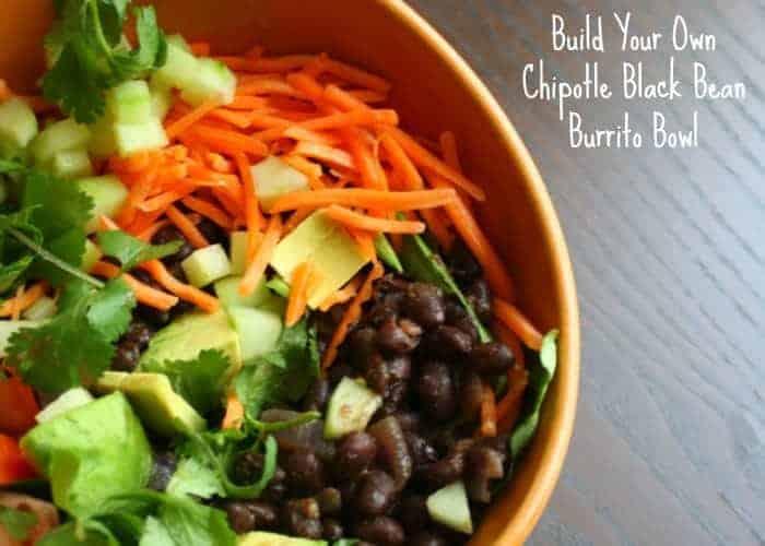 Build Your Own Chipotle Burrito Bowl