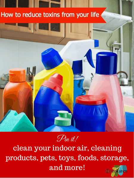 how to reduce toxins from your life by ecokaren