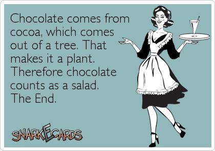 Chocolate E Card