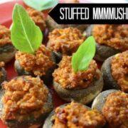 Creamy Italian-Style Stuffed Mushrooms