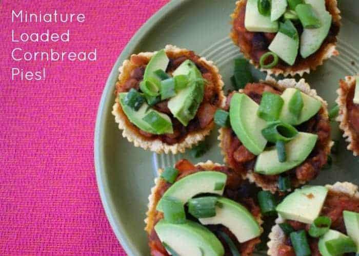 Mini Cornbread Pies