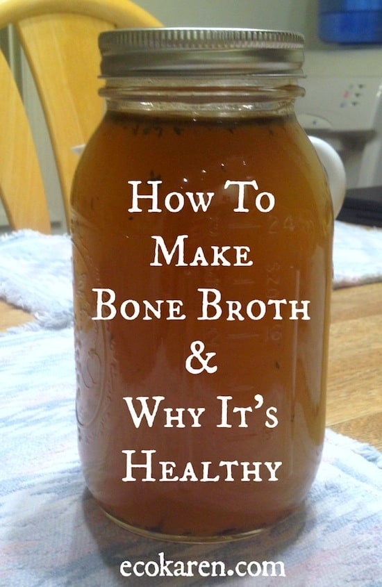 How To  Make  Bone Broth by ecokaren