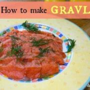 Gravlax Recipe by drkaren
