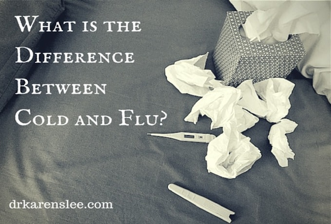 What's the difference between cold and flu?