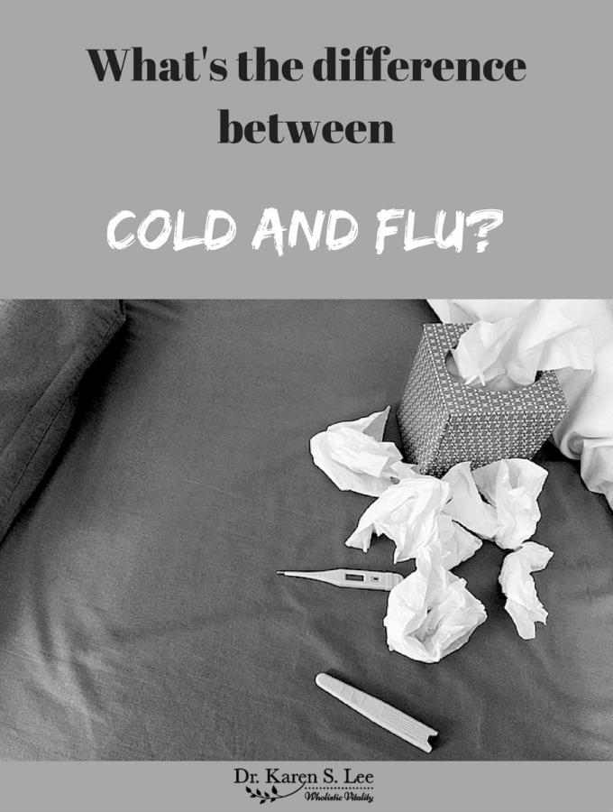 cold and flu difference