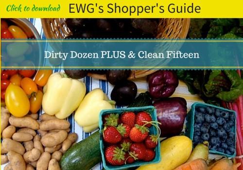 Dirty Dozen PLUS Clean Fifteen List