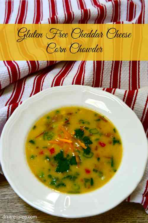 Make Gluten Free Cheddar Cheese Corn Chowder