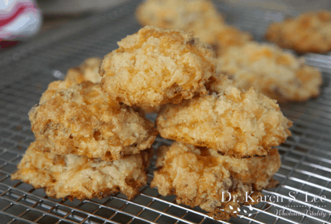 Gluten Free Garlic & Herb Cheese Biscuits by drkarenslee